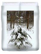 Little Christmas Tree Duvet Cover