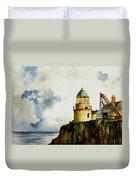 Little Cumbrae Lighthouse Duvet Cover