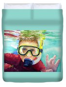 Little Diver Duvet Cover