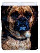 Little Dog Big Heart Duvet Cover