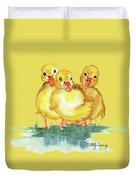 Little Ducks Duvet Cover
