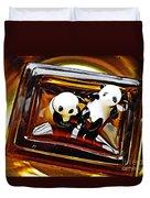 Little Glass Pandas 43 Duvet Cover