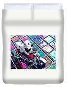 Little Glass Pandas 45 Duvet Cover