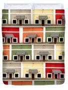 Little Houses Duvet Cover