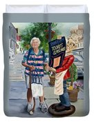 Little Lady From Saugerties Duvet Cover