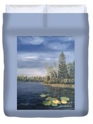 Little Lake In The Woods  Duvet Cover