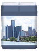 Little Lighthouse In The City Duvet Cover