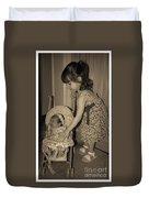 Little Mommy Duvet Cover