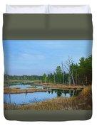 Little Musquatch Lake Duvet Cover