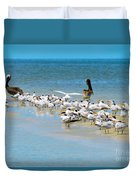Little Pavilion Residents Duvet Cover
