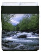 Little Pigeon River Duvet Cover