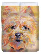 Little Ray Of Sunshine Duvet Cover by Kimberly Santini