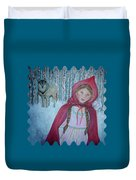 Little Red Riding Hood  Duvet Cover