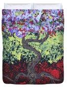 Little Red Tree 2 Duvet Cover