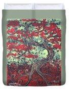 Little Red Tree Series 3 Duvet Cover