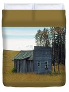 Little Rustic Shack Duvet Cover
