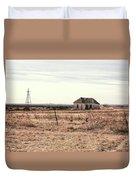 Little Shack On The Prairie Duvet Cover