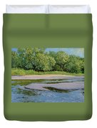 Little Sioux Sandbar Duvet Cover