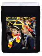 Little Soldiers II Duvet Cover