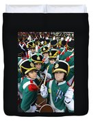 Little Soldiers Vi Duvet Cover