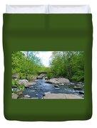 Little Unami Creek - Pennsylvania Duvet Cover