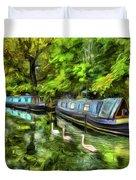 Little Venice London Art Duvet Cover