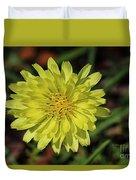 Little Wild Yellow Duvet Cover