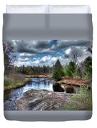 Big Woodhull Creek Duvet Cover
