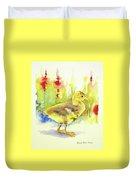 Little Yellow Duck Duvet Cover