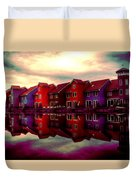 Live And Reflect Duvet Cover