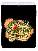 Live Like A Florida Kingsnake Duvet Cover