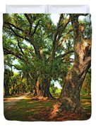 Live Oak Lane Duvet Cover by Steve Harrington