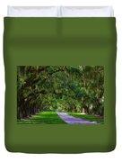 Live Oaks Duvet Cover