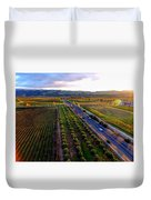 Livermore Wine Country--las Positas Winery Duvet Cover