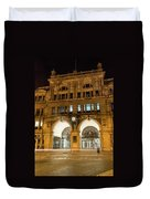 Liverpool Exchange Railway Station By Night Duvet Cover