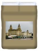 Liverpool Waterfront Duvet Cover