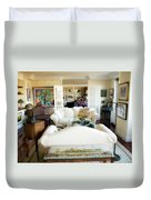 Living Room Iv Duvet Cover by Madeline Ellis