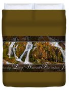 Living Water Duvet Cover