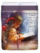 Living Word Duvet Cover