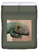Lizard Art Work Duvet Cover
