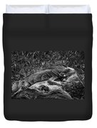 Lizard-bw Duvet Cover