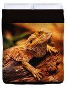 Lizard - Id 16217-202744-5164 Duvet Cover