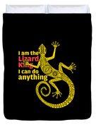 Lizard King Duvet Cover