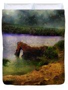Lake Of Stars Duvet Cover