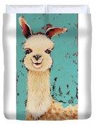 Llama Sid Duvet Cover