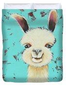 Llama Sue Duvet Cover