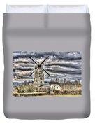 Llancayo Mill Usk 3 Duvet Cover