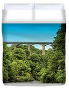 Llangollen Viaduct Duvet Cover