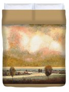 Lo Stagno Sotto Al Cielo Duvet Cover by Guido Borelli