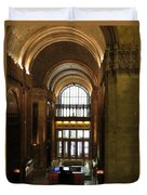 Lobby Of Woolworth Building Duvet Cover